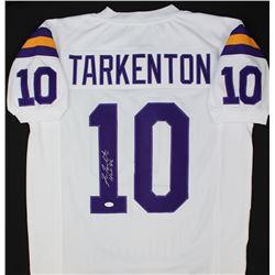"""Fran Tarkenton Signed Vikings Jersey Inscribed """"HOF 86"""" (JSA COA)"""