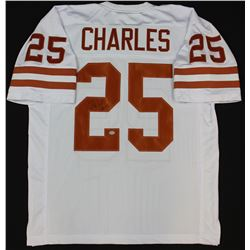 Jamaal Charles Signed Texas Longhorns Jersey (GTSM COA  Charles Hologram)