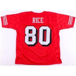 Jerry Rice Signed 49ers Jersey (PSA COA)