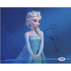 "Idina Menzel Signed ""Frozen"" 8x10 Photo (PSA COA)"