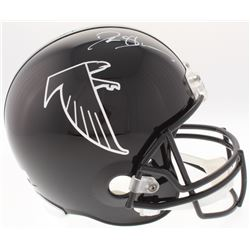 Deion Sanders Signed Falcons Full-Size Helmet (Radtke COA)