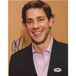 "John Krasinski Signed ""The Office"" 8x10 Photo (PSA COA)"