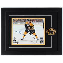 Torey Krug Signed Bruins 14x18 Custom Framed Photo Display (Krug Hologram  Diamond Legends COA)