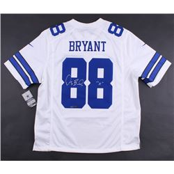 """Dez Bryant Signed Cowboys LE Authentic Nike On-Field Jersey Inscribed """"X"""" (Panini COA)"""