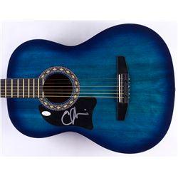 Emmylou Harris Signed Full-Size Rogue Acoustic Guitar (JSA COA)