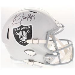 Bo Jackson Signed Raiders Full-Size Speed Helmet (Radtke COA  Jackson Hologram)