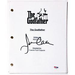 "James Caan Signed ""The Godfather"" Full Movie Script (PSA COA)"