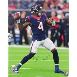 Deshaun Watson Signed Texans 16x20 Photo (JSA COA)