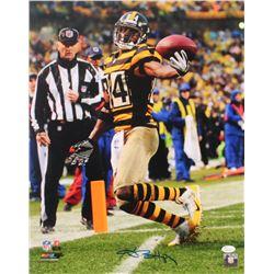 Antonio Brown Signed Steelers 16x20 Photo (JSA COA)