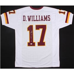 "Doug Williams Signed Redskins Jersey Inscribed ""SB XXII MVP"" (JSA COA)"
