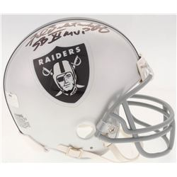 "Fred Biletnikoff Signed Raiders Mini Helmet Inscribed ""SB XI MVP"" (Radtke COA)"