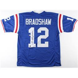 Terry Bradshaw Signed Louisiana Tech Bulldogs Jersey (Radtke COA  Bradshaw Hologram)