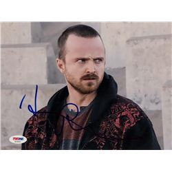 "Aaron Paul Signed ""Breaking Bad"" 8x10 Photo (PSA COA)"