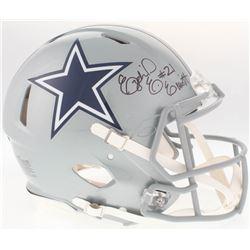 Ezekiel Elliott Signed Cowboys Authentic On-Field Full-Size Speed Helmet (Beckett COA)