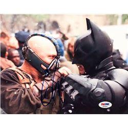 """Tom Hardy Signed """"The Dark Knight Rises"""" 8x10 Photo (PSA COA)"""