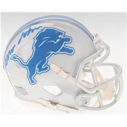 Kerryon Johnson Signed Lions Mini Speed Helmet (Radtke Hologram)