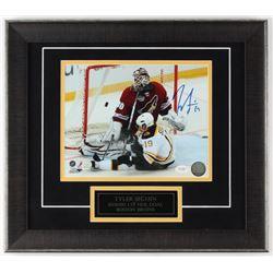 Tyler Seguin Signed Bruins 15.5x17.5 Custom Framed Photo Display (JSA COA)