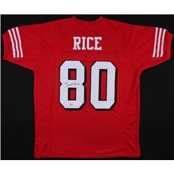 Jerry Rice Signed San Francisco 49ers Jersey (Beckett COA)