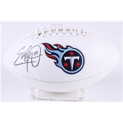 Eddie George Signed Titans Logo Football (Radtke Hologram)