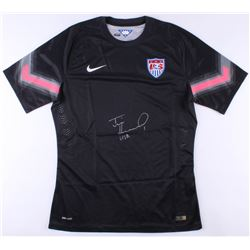 "Tim Howard Signed Team USA Goalkeeper Jersey Inscribed ""USA"" (JSA COA  Howard Hologram)"