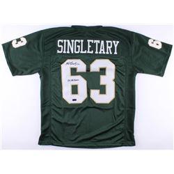 "Mike Singletary Signed Baylor Bears Jersey Inscribed ""2x All-American"" (Radtke COA)"