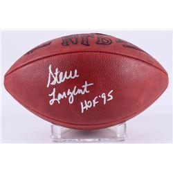 """Steve Largent Signed Signed Official NFL Game Ball Inscribed """"HOF '95"""" (JSA Hologram)"""