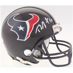DeAndre Hopkins Signed Texans Mini Helmet (JSA COA)
