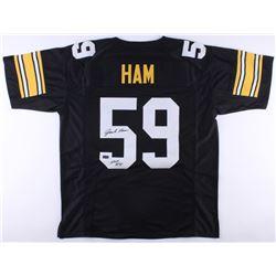"Jack Ham Signed Steelers Jersey Inscribed ""HOF 88"" (Radtke COA)"