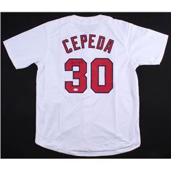 Orlando Cepeda Signed Cardinals Jersey (JSA COA)