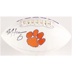 DeAndre Hopkins Signed Clemson Tigers Logo Football (Radtke COA)