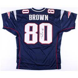 Troy Brown Signed Patriots Jersey (JSA COA)