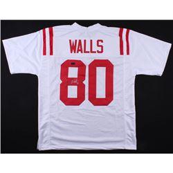 Wesley Walls Signed Ole Miss Rebels Jersey (Radtke COA)