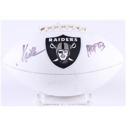 "Marcus Allen Signed Raiders Logo Football Inscribed ""HOF 03"" (Radtke COA)"