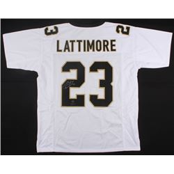 Marshon Lattimore Signed Saints Jersey (Radtke COA)