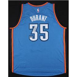 Kevin Durant Signed Thunder Jersey (Panini COA)