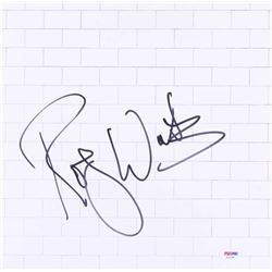 "Roger Waters Signed ""The Wall"" Vinyl Record Album Cover (PSA COA)"