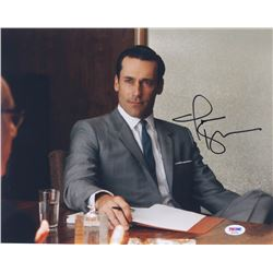 "Jon Hamm Signed ""Mad Men"" 11x14 Photo (PSA COA)"