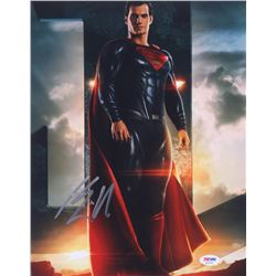 "Henry Cavill Signed ""Man of Steel"" 11x14 Photo (PSA COA)"