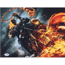 "Nicolas Cage Signed ""Ghost Rider"" 11x14 Photo (PSA COA)"