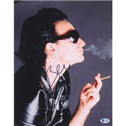 "Bono Signed ""Saint and Sinner"" 11x14 Photo (Beckett COA)"