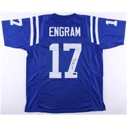 Evan Engram Signed Ole Miss Rebels Jersey (Radtke COA)