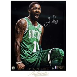 "Kyrie Irving Signed Celtics ""Intensity"" 16x20 Limited Edition Photo (Panini COA)"