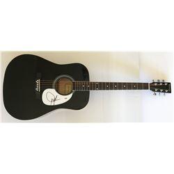 Dwight Yoakam Signed Full-Size Acoustic Guitar (PSA COA)