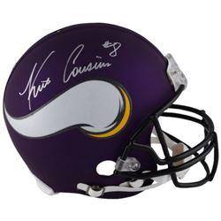 Kirk Cousins Signed Vikings Full-Size Authentic On-Field Helmet (Fanatics Hologram)