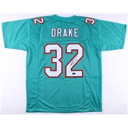 Kenyan Drake Signed Dolphins Jersey (Radtke COA)
