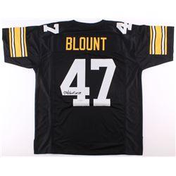 "Mel Blount Signed Steelers Jersey Inscribed ""HOF 89"" (Radtke COA)"