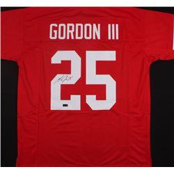 Melvin Gordon Signed Wisconsin Badgers Jersey (Radtke COA)