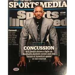 Will Smith Signed 11x14 Sports Illustrated Cover Photo (PSA COA)