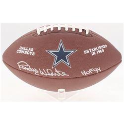 "Randy White Signed Cowboys Logo Football Inscribed ""HOF 94"" (Schwartz COA)"