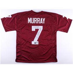 "DeMarco Murray Signed Oklahoma Sooners Jersey Inscribed ""6,718 AP Yds""  ""65 TD's"" (Radtke COA)"